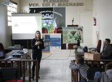 Valorizar a vida de forma cidadã e consciente foi tema de palestra para os alunos do PROERD